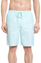 Peter Millar Men's Houndstooth Print Swim Trunks