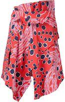 Carven colour block dress - women - Viscose - 38
