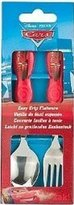 Zak Designs Zak! Designs Easy Grip Flatware - Children's Spoon and Fork with Disney Cars Graphics - BPA-Free (Pack of 6)