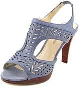 Adrienne Vittadini Prism Women Open Toe Leather Sandals.