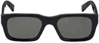 RetroSuperFuture Augusto Black Acetate Sunglasses