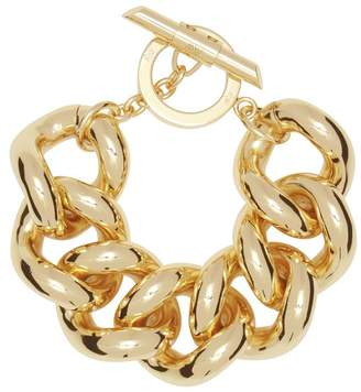 Amanda Wakeley Gold Chunky Chain Bracelet