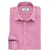 Thomas Pink Travers Check Classic Fit Button Cuff Shirt
