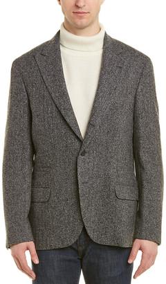 Brunello Cucinelli Wool & Silk-Blend Blazer