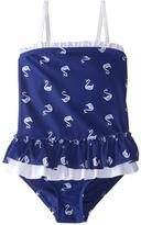 Hula Star Girls' Swan Princess One Piece Swimsuit (2T6X) - 8154265