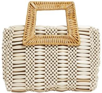 Aranaz Cerise Woven Bag