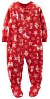 Carter's Christmas Footie Blanket Sleeper