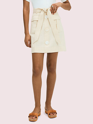 Kate Spade Luxe Twill Skirt