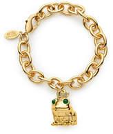 Estee Lauder Limited Edition Pure Color Crystal Lipstick Loving Frog Charm Bracelet