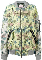 Marna Ro - floral bomber jacket - women - Cotton/Polyester/Other fibres - XS