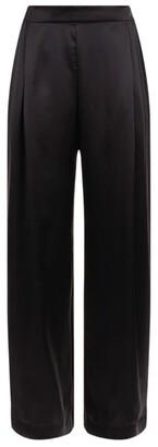 Hanro Wide-Leg Silk Trousers