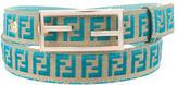 Fendi Zucca Waist Belt