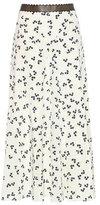 Roksanda Moraya printed silk midi skirt