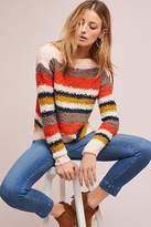 Nümph Striped Boat Neck Sweater