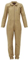Lafont Funtaine Cotton-canvas Jumpsuit - Womens - Beige