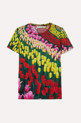 Mary Katrantzou Iven Floral-print Jersey T-shirt - Yellow