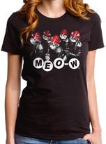 Goodie Two Sleeves Black Devo Meo-W Tee - Juniors