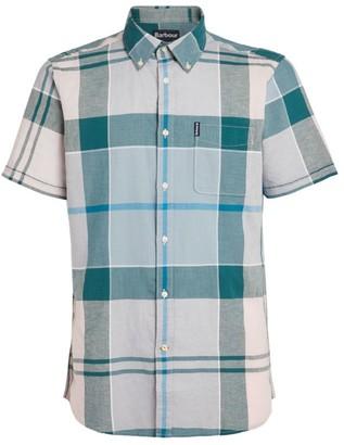 Barbour Check Cotton-Linen Douglas Shirt