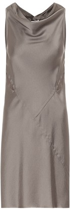 Rick Owens Satin minidress