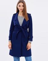 Elena Classic Trench Coat