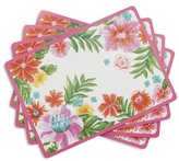 "Sur La Table Tropical Cork-Backed Placemats A03165 , 15.75"" x 11.5"", Set of 4"
