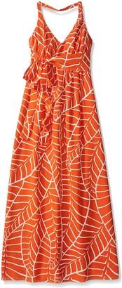 Susana Monaco Women's Strap Back Maxi Dress