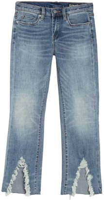 Blanknyc Denim Destroyed Hem Cropped Jeans
