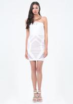 Bebe Petite Banded Dress