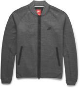 Nike - Cotton-blend Tech Fleece Varsity Jacket