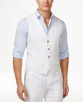 Tasso Elba Men's Linen Vest, Only at Macy's