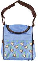 "Baby Essentials Tender Kisses ""Lil' Monkey"" Insulated Bottle Bag - blue, one"
