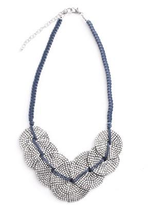 Marc Labat Short Necklace-Metal-Gypsy Chic 15EB46 47 cm