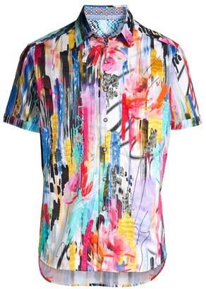 Robert Graham Viper Classic-Fit Abstract Shirt