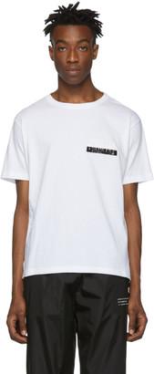MONCLER GENIUS 7 Moncler Fragment Hiroshi Fujiwara White Logo T-Shirt