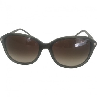 Chloé Green Plastic Sunglasses