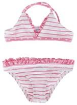 Melissa Odabash Stripe and Polka Pink Bikini