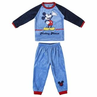 CERDA ARTESANIA Boy's Pijama Largo Poly Mickey Pyjama Sets