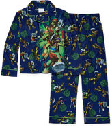 LICENSED PROPERTIES 2-pc. Button-Front Teenage Mutant Ninja Turtles Pajama Set- Boys 4-10