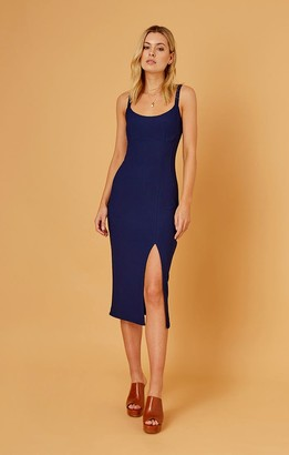 Finders Keepers LUNA DRESS navy