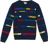 Paul Smith Multi-Coloured Stripe Malo Pullover