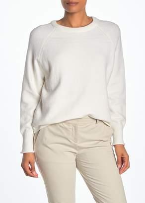 Philosophy di Lorenzo Serafini Raglan Sleeve High/Low Pullover Sweater