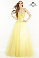 Alyce Paris - 1122 Dress in Yellow