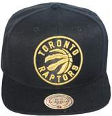 Mitchell & Ness Men's Toronto Raptors Full Logo Snapback Hat O/S /Gold