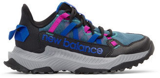 New Balance Black and Blue Shando Sneakers