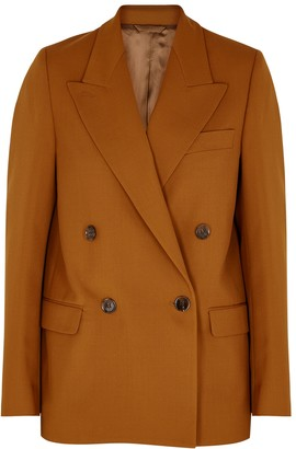Acne Studios Janny brown canvas blazer
