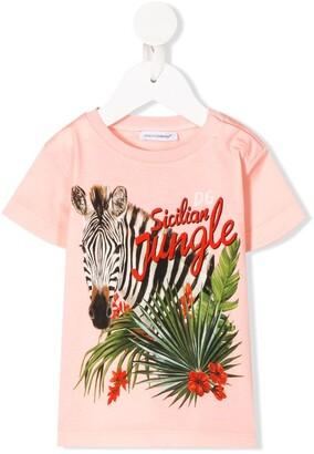 Dolce & Gabbana Sicilian Jungle print T-shirt