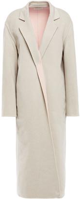 Mansur Gavriel Two-tone Wool-felt Coat