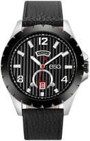 ESQ Mens Black Strap Watch-37esq007301a
