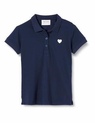 Teddy Smith Girls' PILOCO UNI MC J Polo Shirt