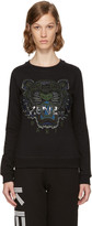 Kenzo Black & Green Tiger Sweatshirt